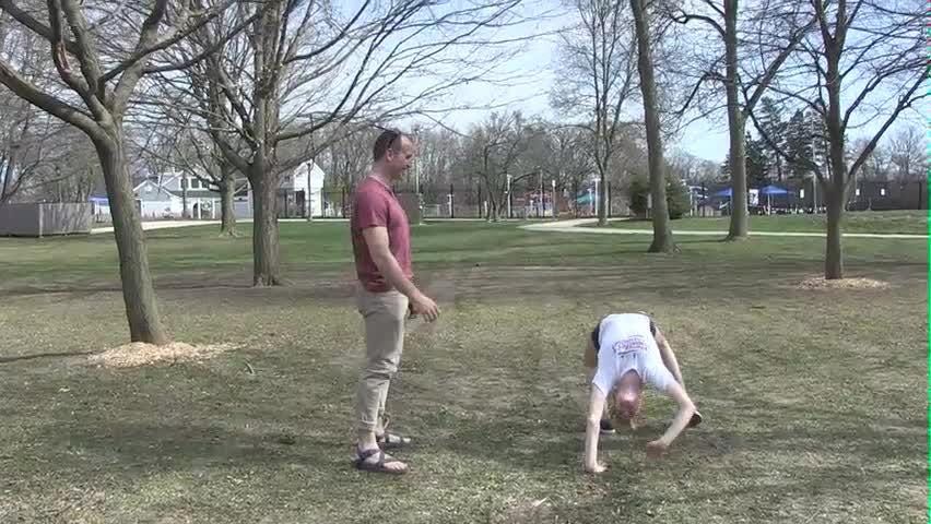 In Motion: Sprints on playground can be fun family exercise