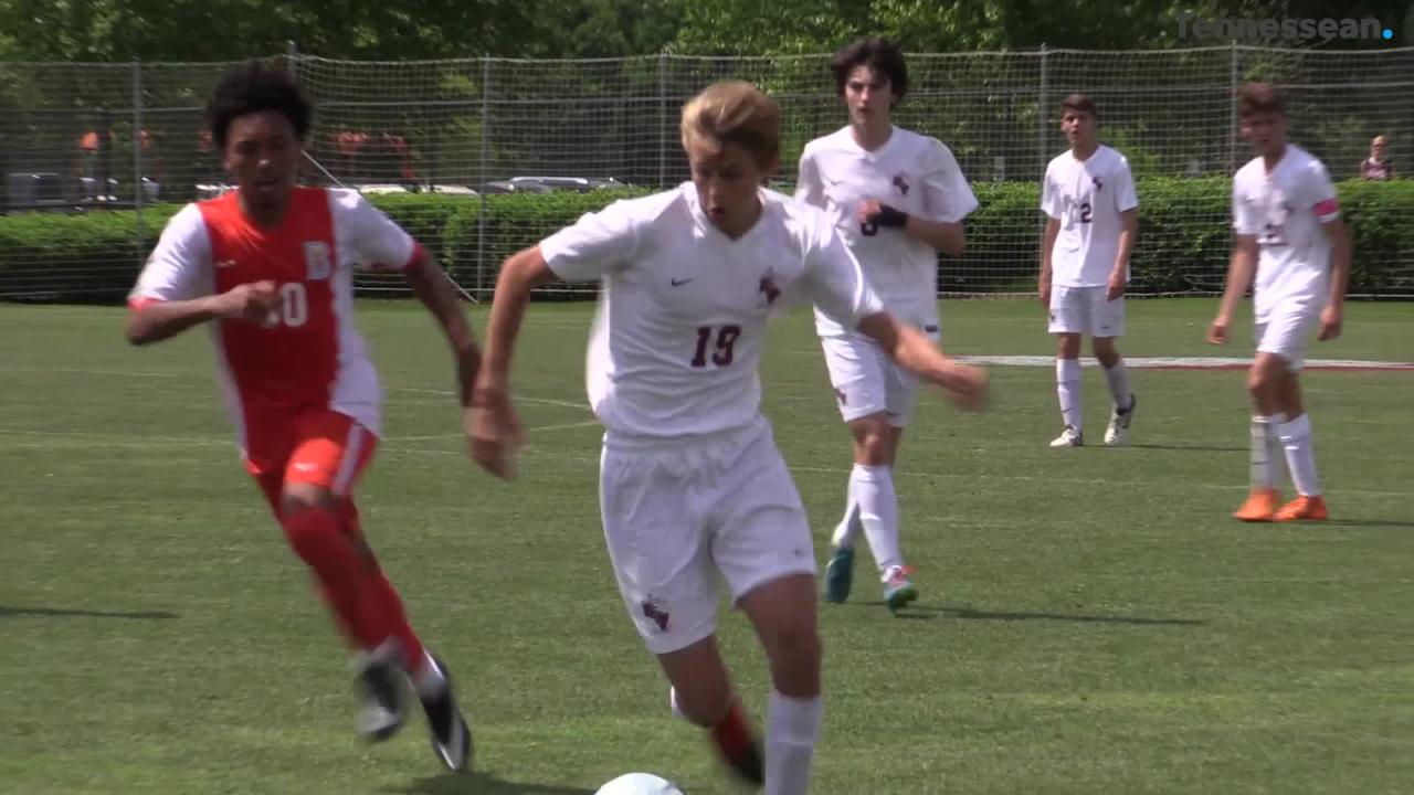 Station Camp beat Blackman 3-0 to take it's second straight state title in soccer.