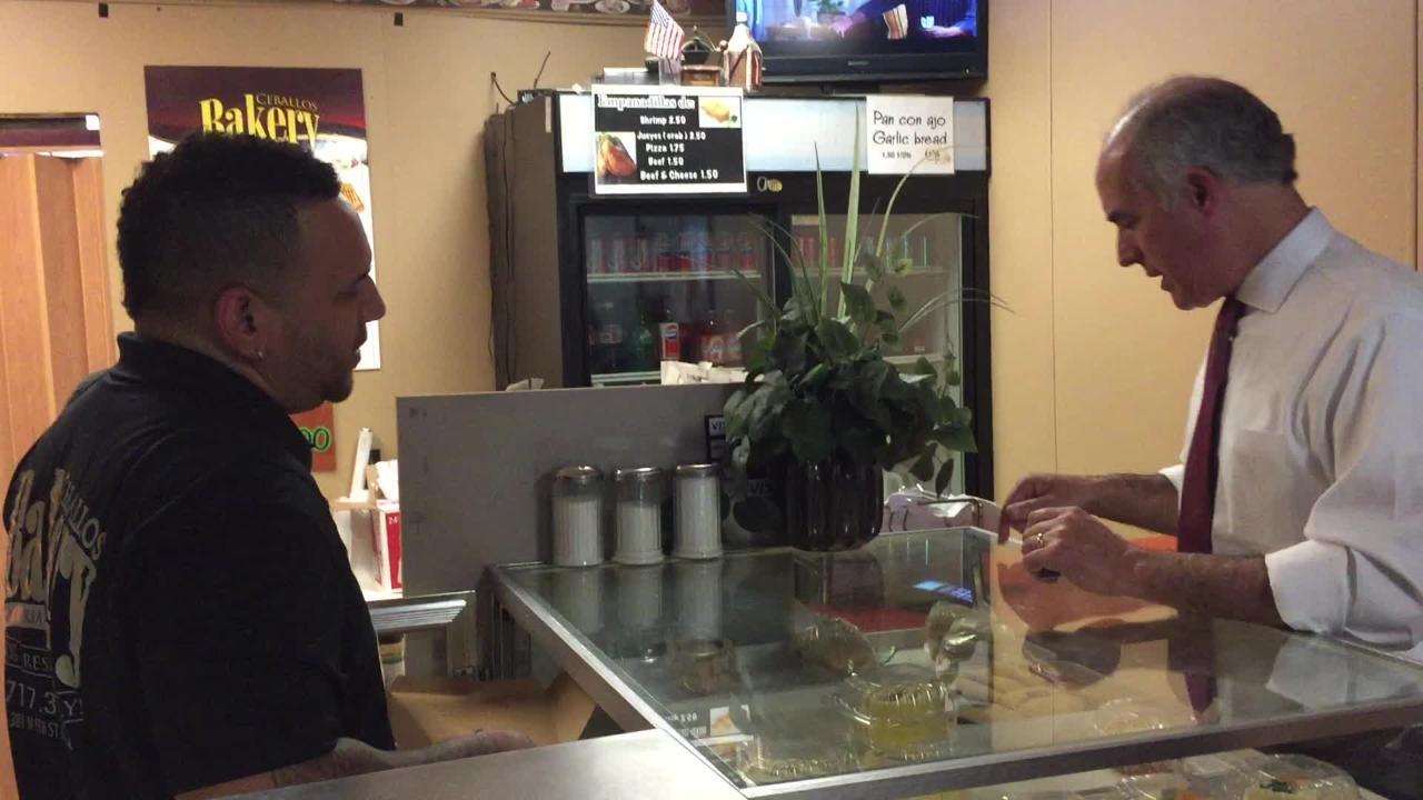 United States Senator Bob Casey visits Lebanon's Ceballos Bakery