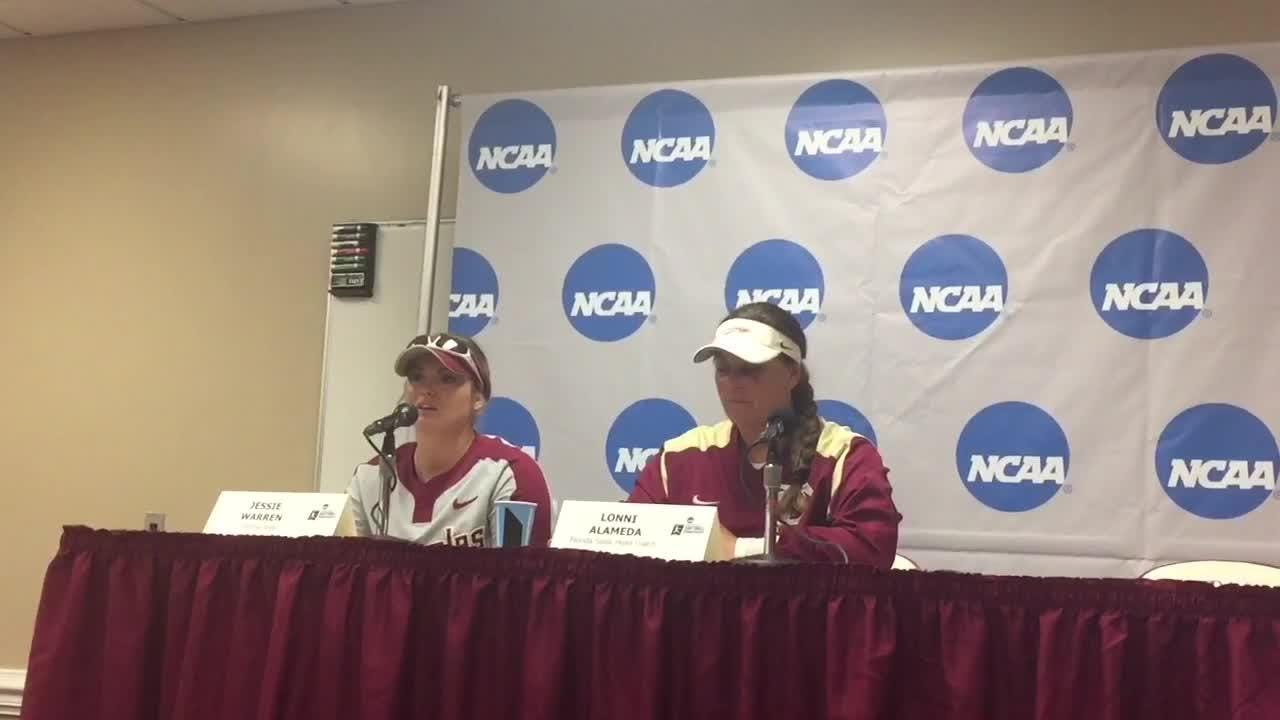 Watch it: Lonni Alameda and Jessie Warren on FSU's 6-5 loss to LSU