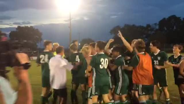 WATCH: Greeneville celebrates a state soccer championship for the second straight season