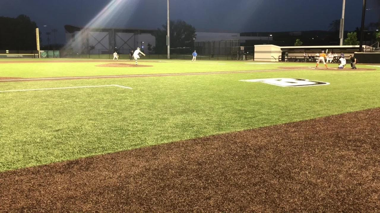 Garrett Bell pitched a five-hitter May 25 as Lansing beat Edison, 3-1, in the Section 4 Class C baseball final at Binghamton University.