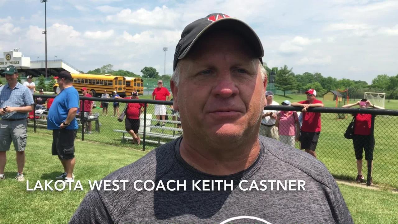 VIDEO Lakota West advances to State softball semis with Lebanon victory