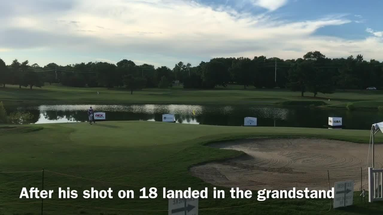 Former Lipscomb golfer gets on the green and out of trouble in the Nashville Golf Open