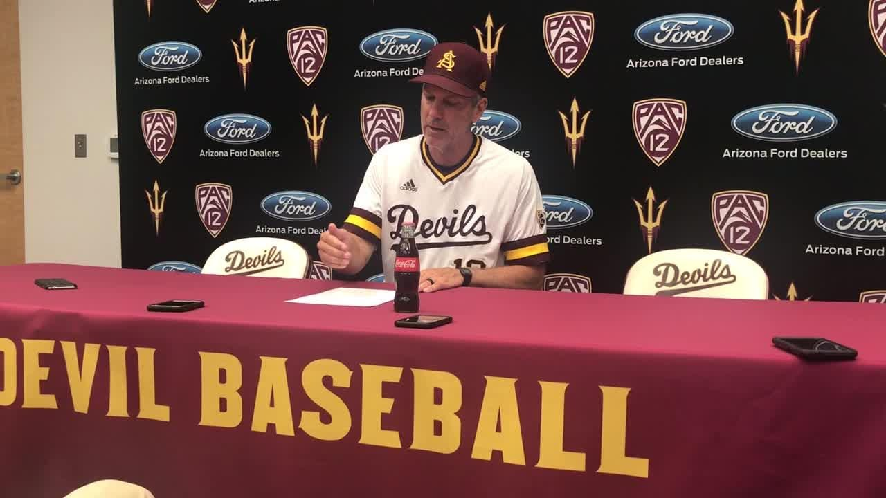 Tracy Smith talks postgame about the end of the season and their senior night loss to Cal.