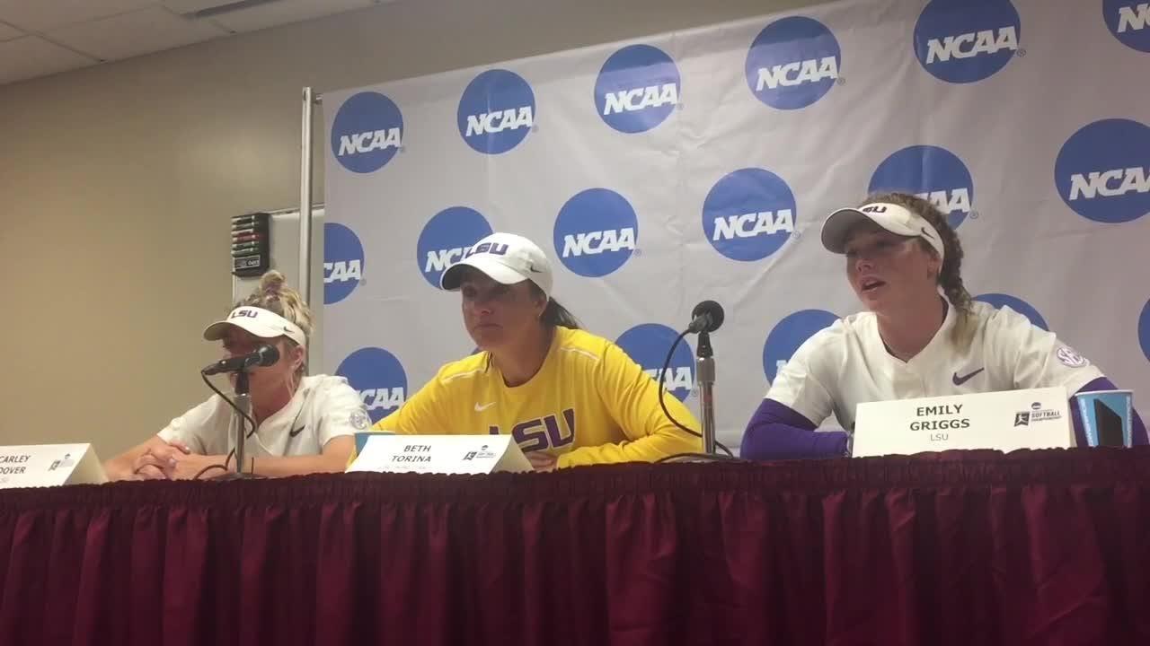 Watch it: LSU coach, players talk Saturday's two losses to FSU