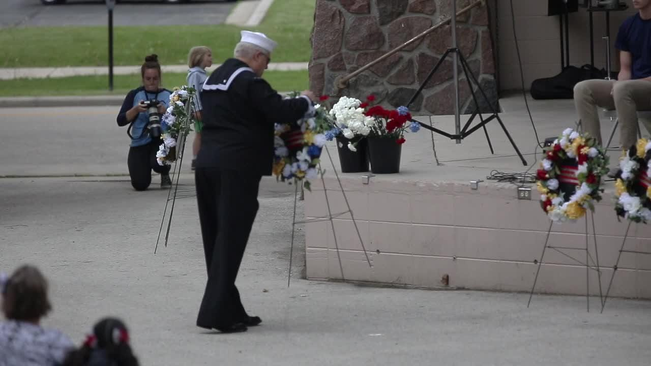 A video showing highlights from Sheboygan Memorial Day, where people honored those who gave the ultimate sacrifice.