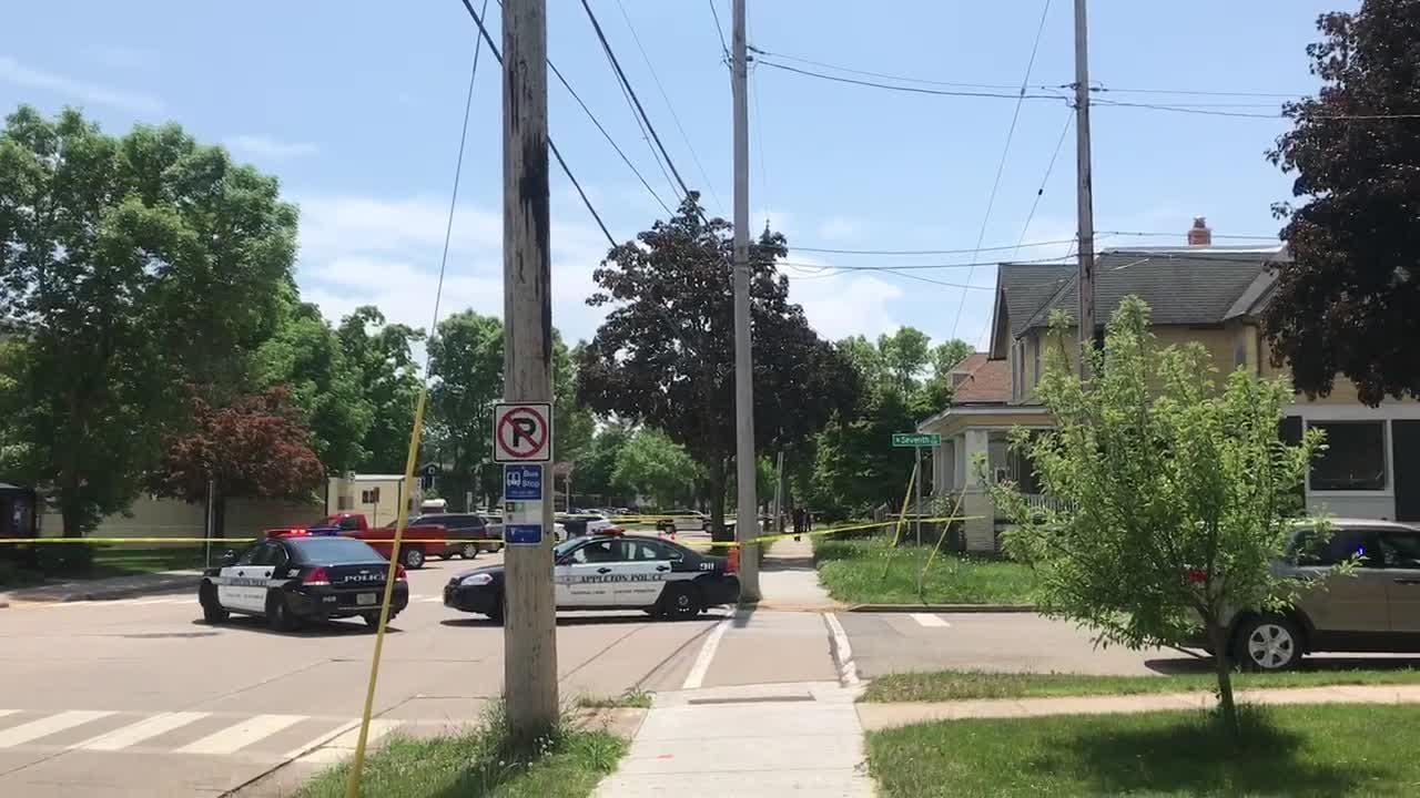 South Walnut Street was temporarily closed Tuesday afternoon as police investigated a suspicious package.