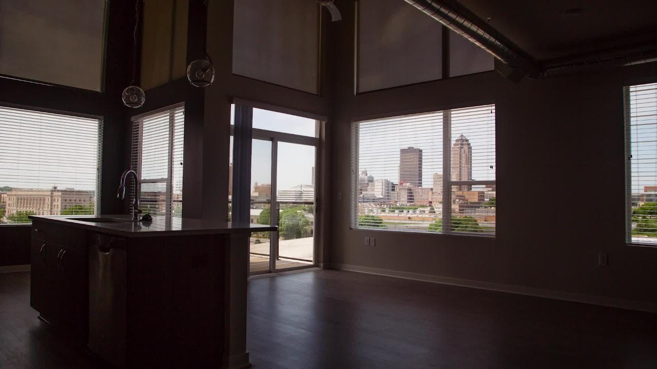 Hubbell Realty Company's new development on the east bank of the Des Moines River is built to feel like its own neighborhood.