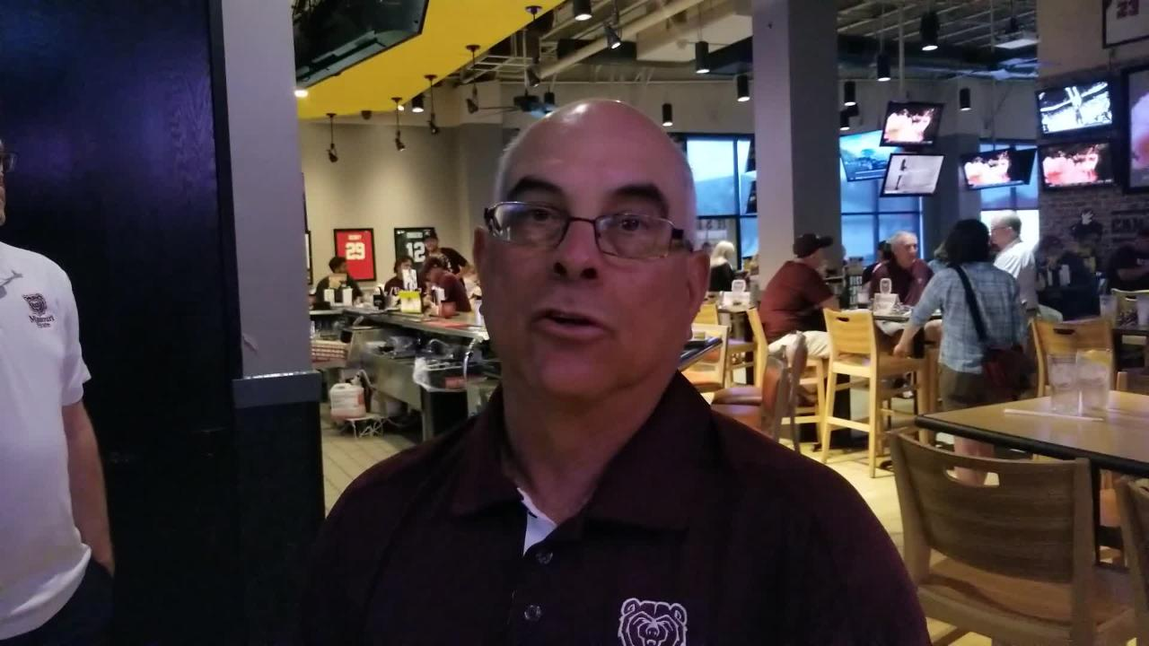 Bears head coach Keith Guttin avoids draft talk and breaks down what's been working for his MSU baseball team.