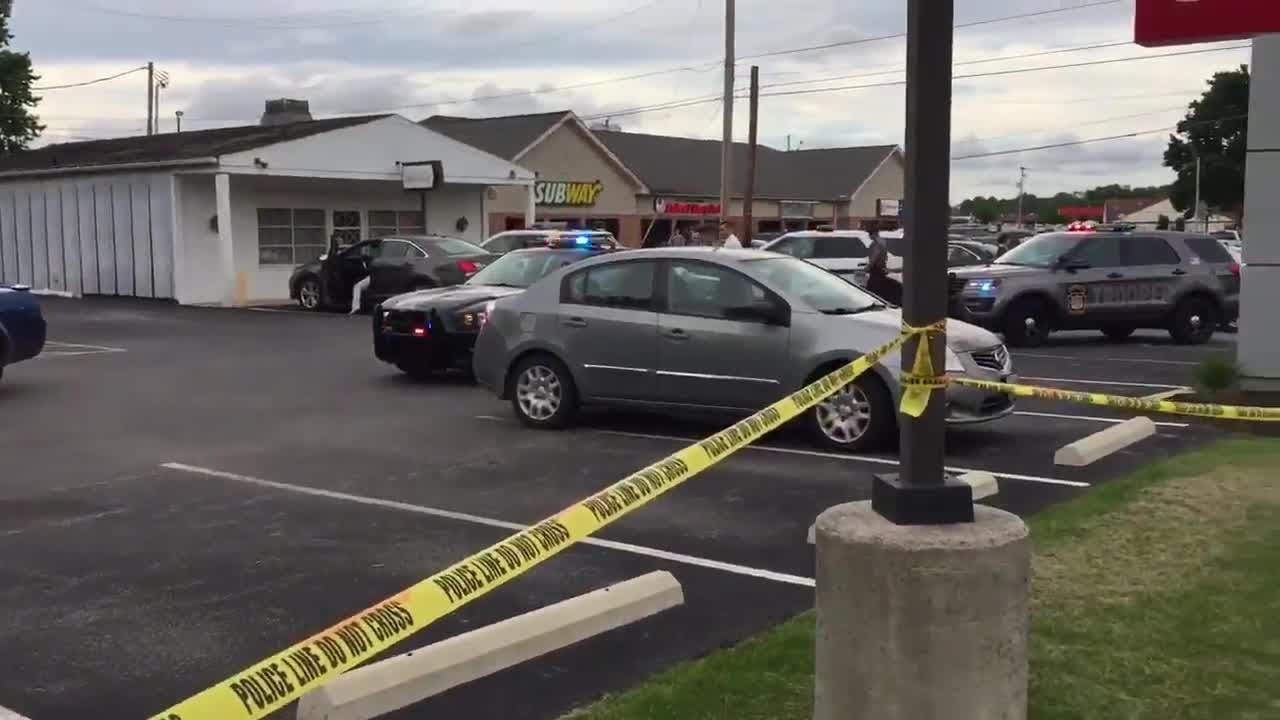 A shooting was reported at a bank in Spring Grove Wednesday around 4:45 p.m.