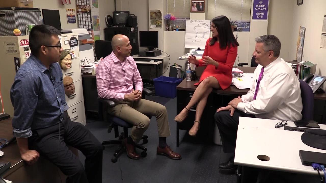 The Arizona Republic's politics team talks with David Garcia about his campaign and Arizona's upcoming election for governor.