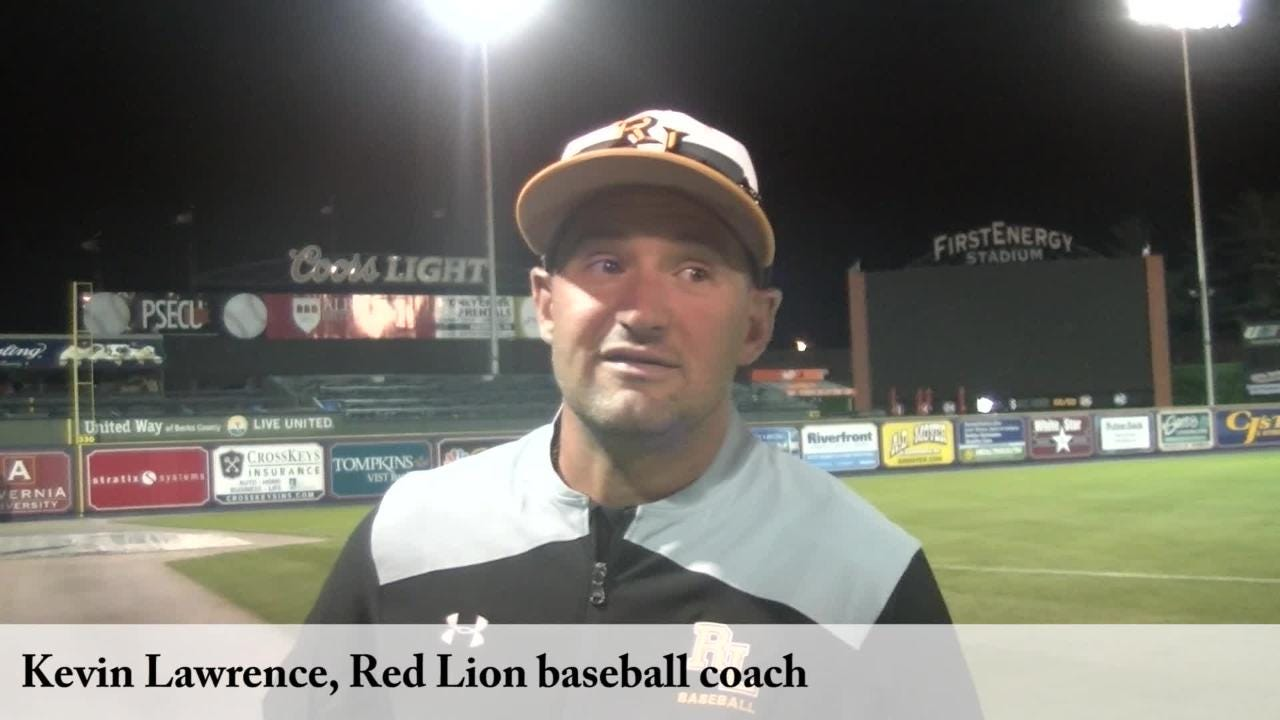 The Red Lion baseball team fell behind early against a talented Cumberland Valley squad Wednesday, losing 8-2 in the District 3 final.