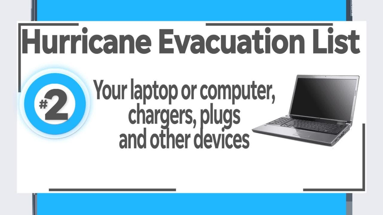 If you decide to evacuate before a hurricane, you need to be prepared. Naples Daily News' Get Organized columnist Marla Ottenstein offers a list of things to pack. Find the checklist at www.naplesnews.com/hurricanechecklist.