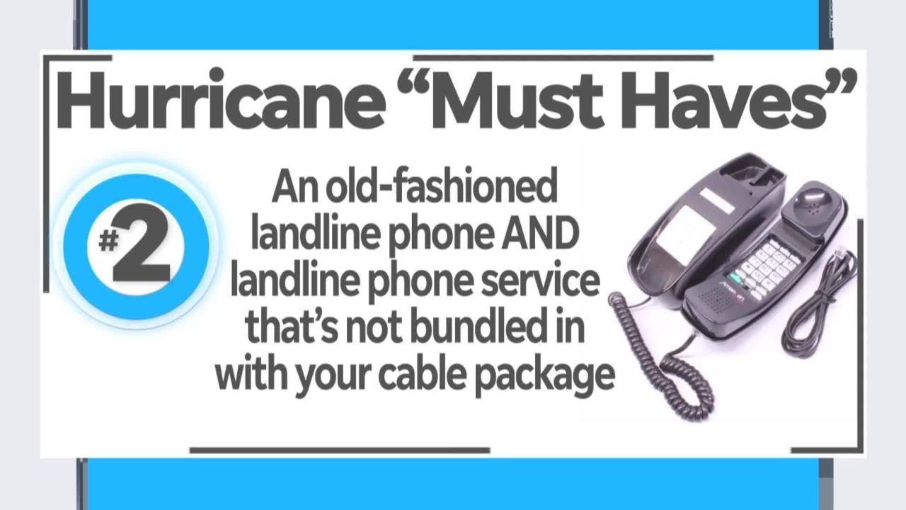 Milk jugs and landline phones? Naples Daily News' Get Organized Columnist shares a few off-the-beaten-track items from her hurricane checklist. Find the full hurricane checklist at www.naplesnews.com/hurricanechecklist