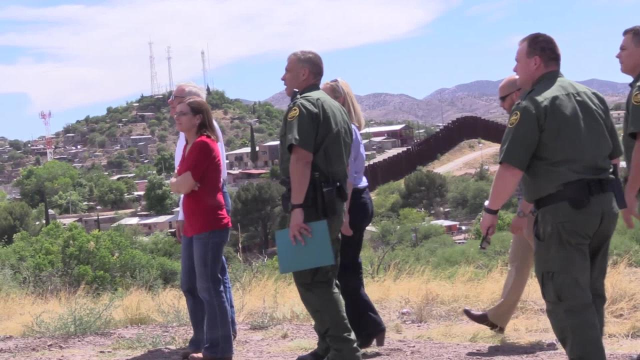 During a border tour on May 31, 2018., Homeland Security Secretary Kirstjen Nielsen said agents would arrest all illegal border crosses.