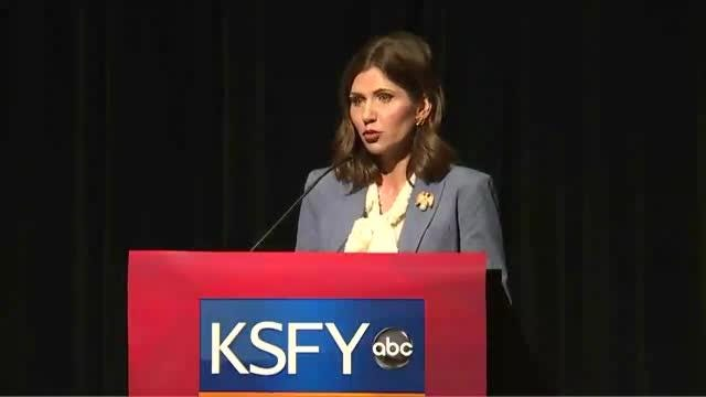 The Argus Leader/KSFY gubernatorial debate between Kristi Noem and Marty Jackley