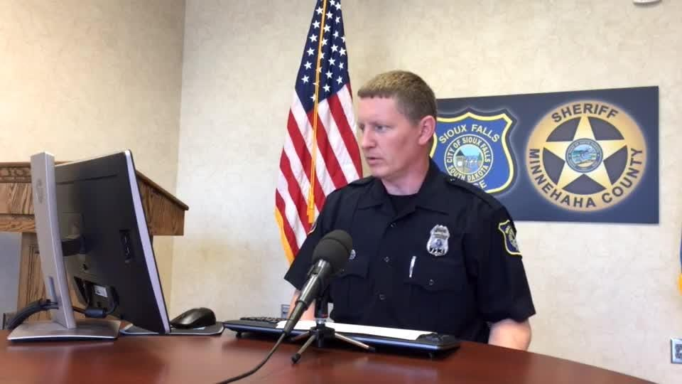 Police spokesman Sam Clemens discusses a weapons violation and shoplifting incidents in Sioux Falls.