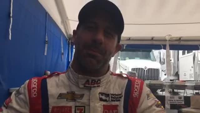 Catching up with IndyCar's Tony Kanaan at Detroit Grand Prix on Belle Isle