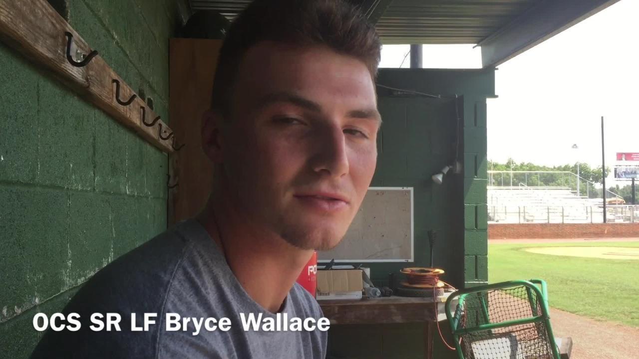 Ouachita Christian senior leftfielder Bryce Wallace describes his leadership style.