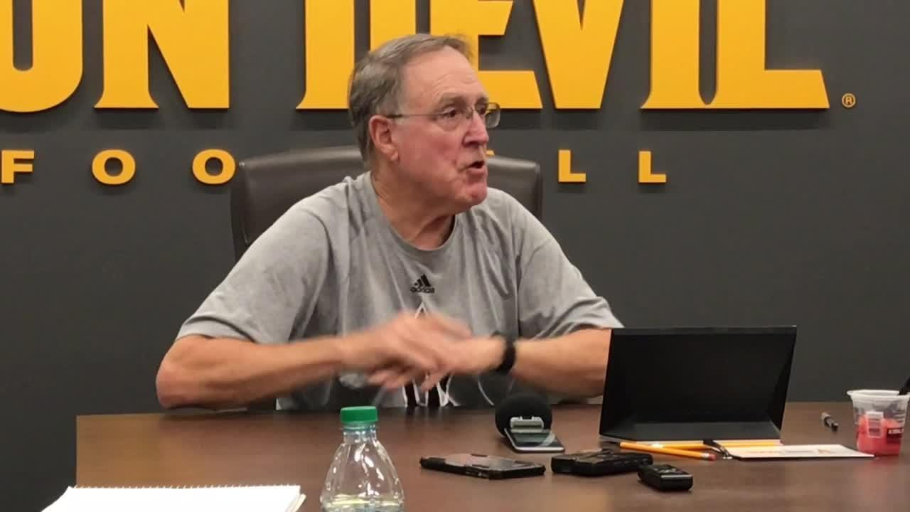 Al Luginbill is back with ASU football as director of player personnel