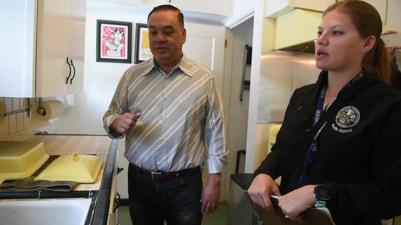 See if RGJ Editor Kelly Scott's kitchen passes a food safety inspection.