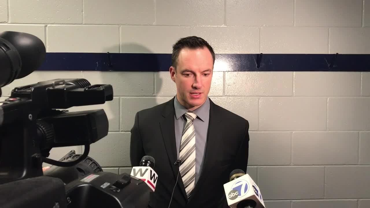 Everblades' coach Brad Ralph talks about his team's resiliency in their 7-6 overtime victory in game four of the Kelly Cup Final.
