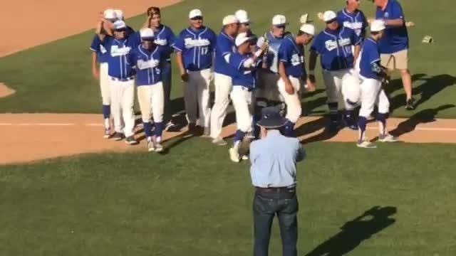Fillmore goes from wild-card entry to a champion by defeating Trinity Classical Academy 7-4 to win the CIF-SS Division 7 baseball title Saturday.