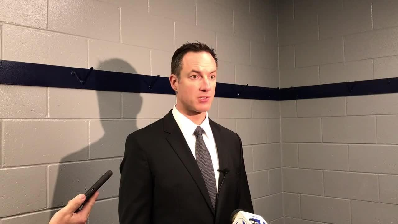 Everblades' coach Brad Ralph talks about his team's 5-0 victory in game five of the Kelly Cup Finals.