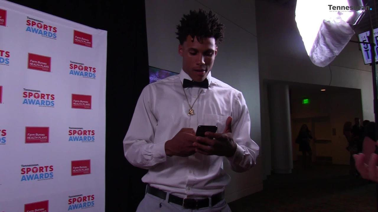 Athletes from the Middle Tennessee area gathered for the best night in high school sports, wearing their best outfits at the Tennessean Sports Awards.