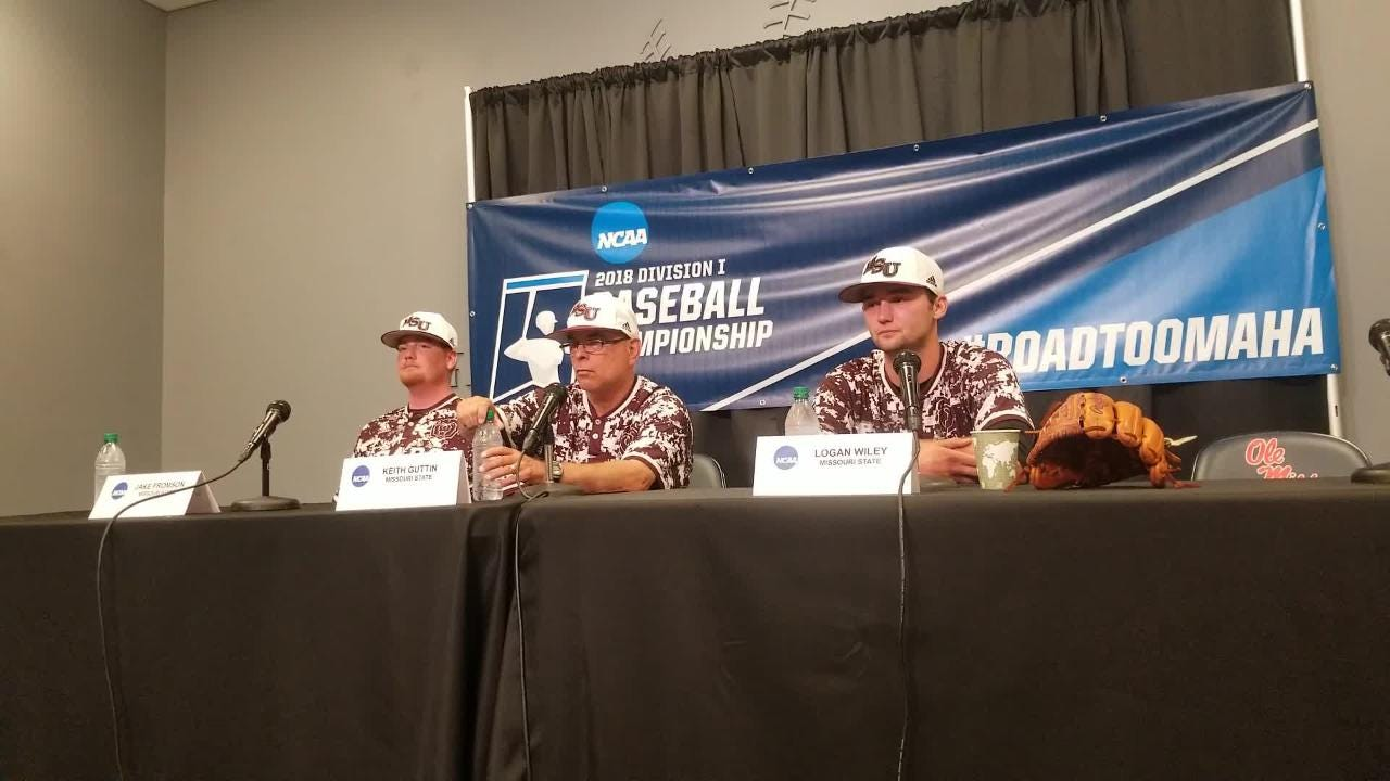 Emotional press conference after Missouri State's season ending loss