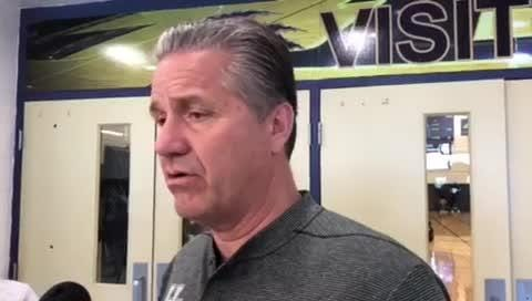 Kentucky basketball coach John Calipari discusses PJ Washington's return and more in Elizabethtown, Kentucky, on Monday, June 4, 2018.