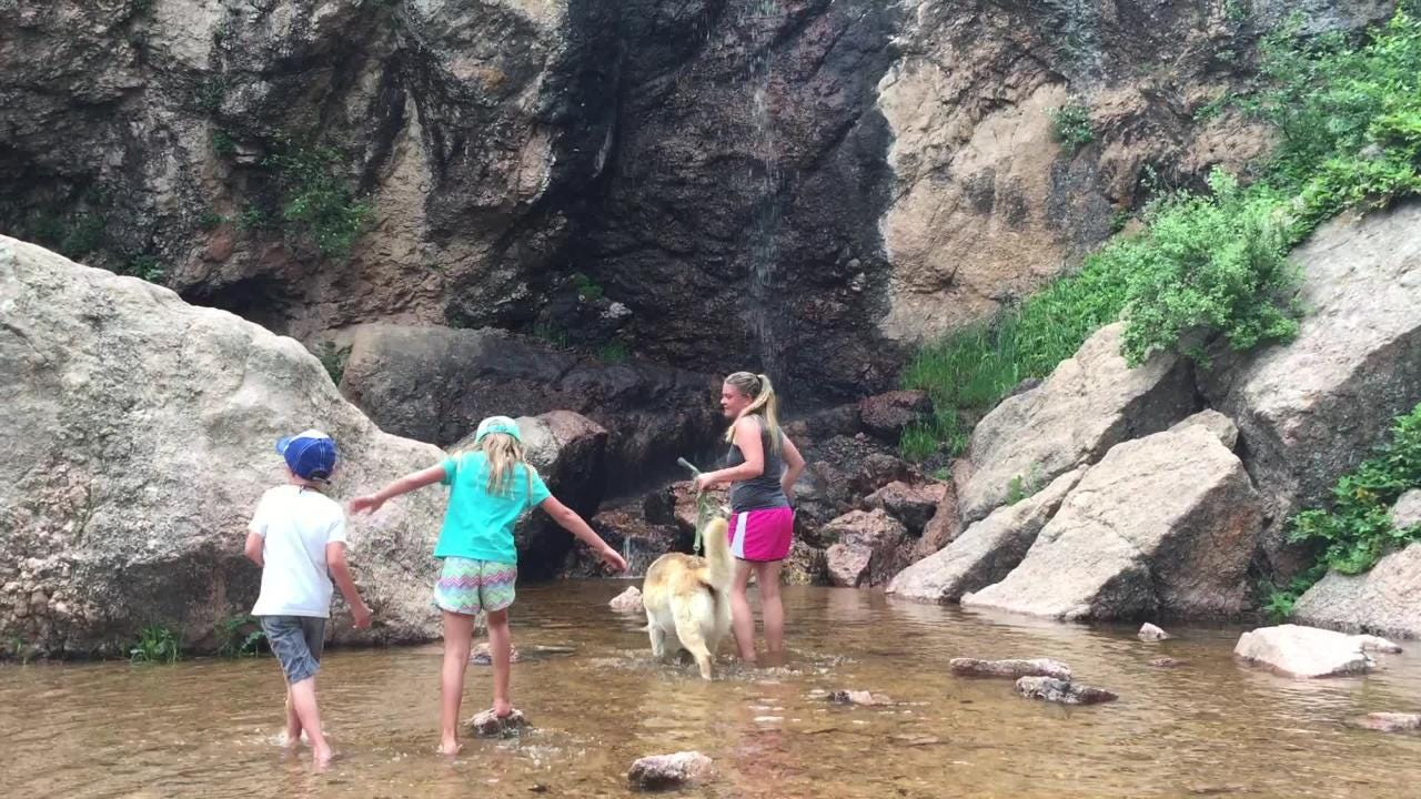 Horsetooth Falls is a short drive and hike from Fort Collins.