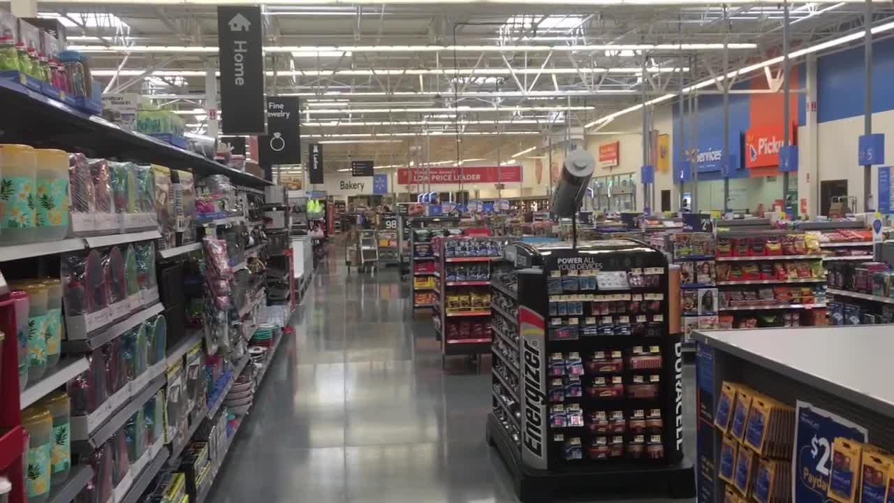 Media members were invited for a tour of the Walmart supercenter opening at 934 Rt. 73 in Mt. Laurel.