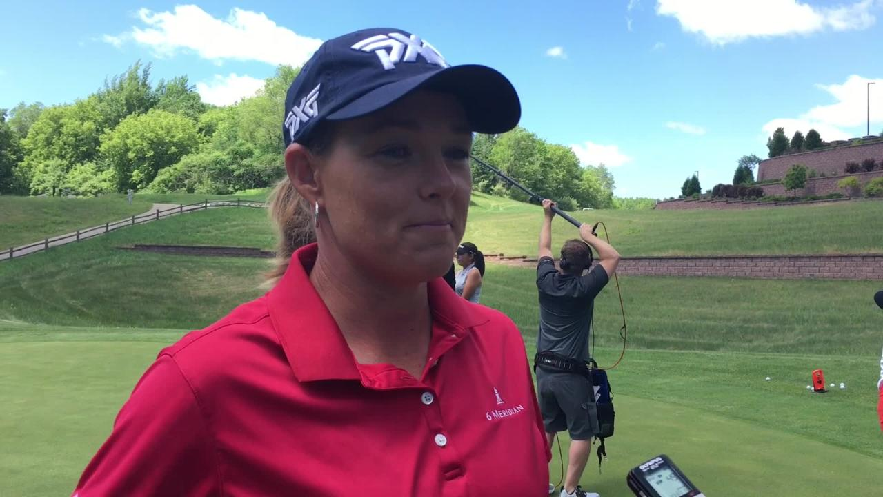 LPGA golfer Katherine Kirk revisits her 2017 Thornberry Creek LPGA Classic win and looks ahead to this year's tournament in July. (June 5, 2018)