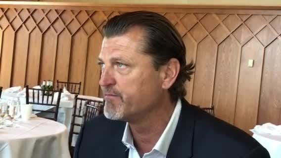 Trevor Hoffman will be inducted in the Baseball Hall of Fame this summer. Before that, he will golf in the celebrity tournament at Edgewood Tahoe.