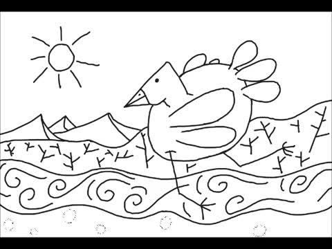 Artist Will Luck created the drawings and composed the music for this video.