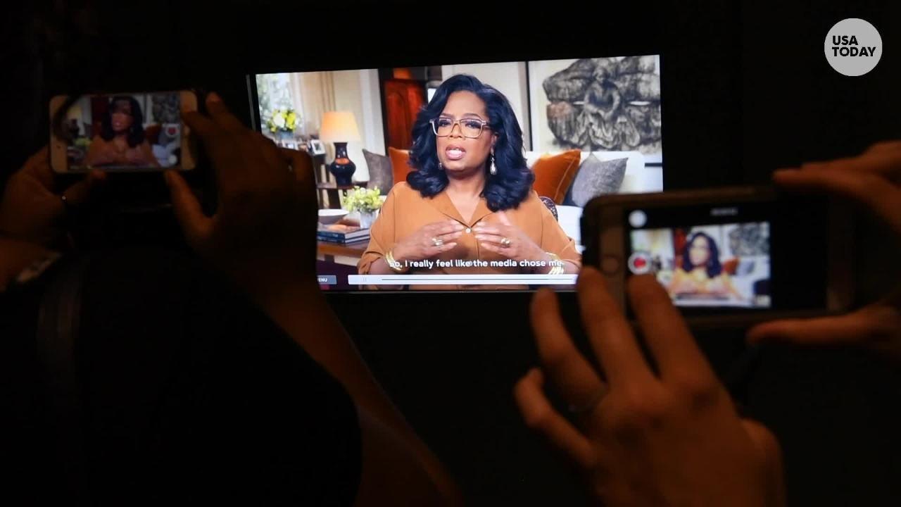 'Watching Oprah' exhibit celebrates Oprah Winfrey's biggest TV moments