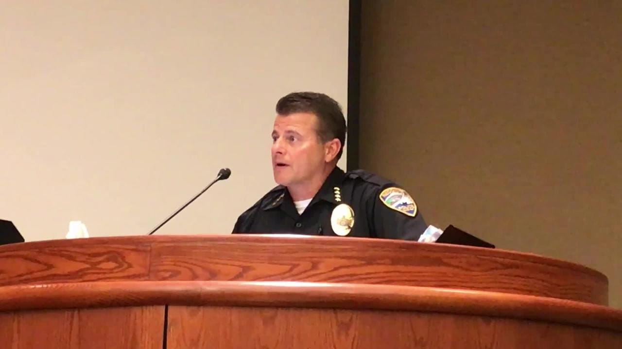 In the summer of 2018, Redding Police Chief Roger Moore said South City Park was unmanageable for his officers. The city has since closed the park.