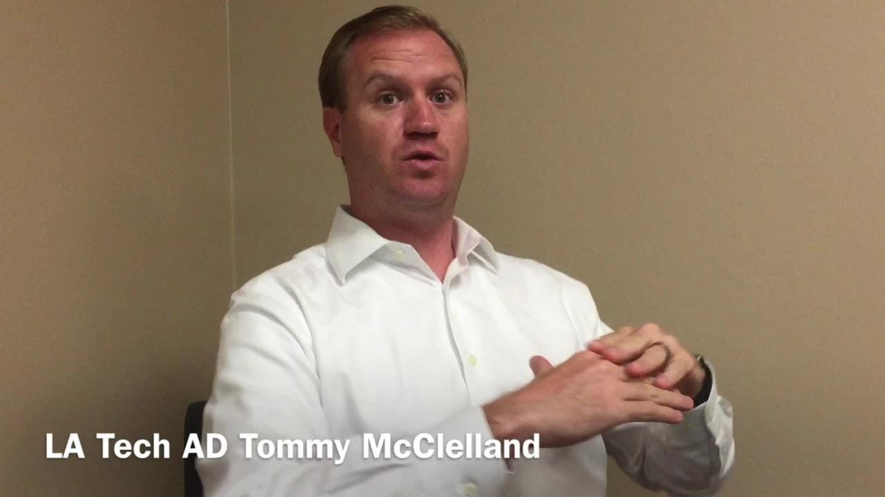Louisiana Tech Athletic Director Tommy McClelland breaks down Conference USA's new men's basketball schedule.