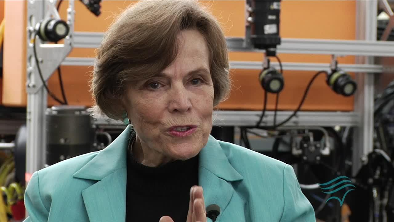 Sylvia Earle is one of six finalists for the Indianapolis Prize, a $250,000 award for conservation given out every two years. Earle studies the oceans.
