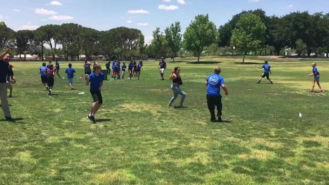 LCPD Youth Academy Water Fight