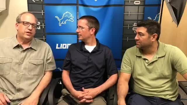 Detroit Free Press writers Shawn Windsor, Dave Birkett and Carlos Monarrez break down day 3 of Detroit Lions minicamp on Thursday, June 7, 2018.