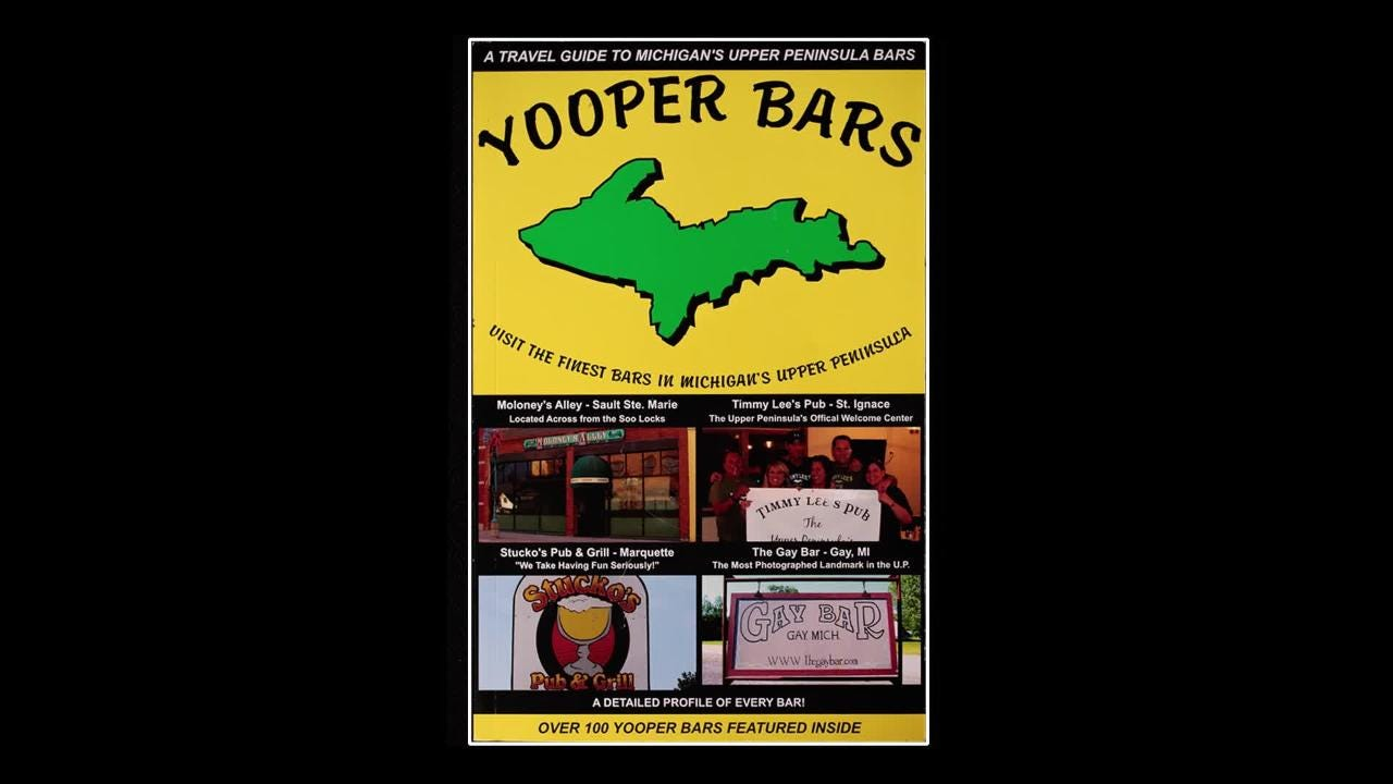 Book about Yooper bars becomes underground classic