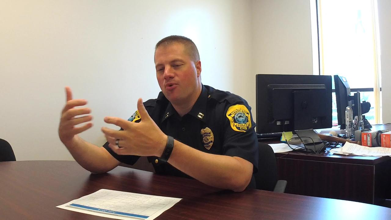 Green Bay Police Capt. Kevin Warych discusses how the department is continuing to form relationships with members of the community.