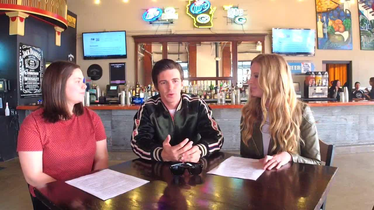 The Daily Dose talks with Nickelodeon star and musician Drake Bell Thursday night before his concert at Green Bay Distillery.