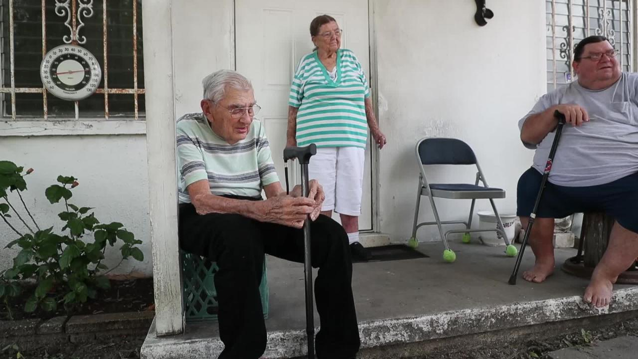 Long time Fort Myers resident Ralph Hauser and family will get new roof after community rallies around them.