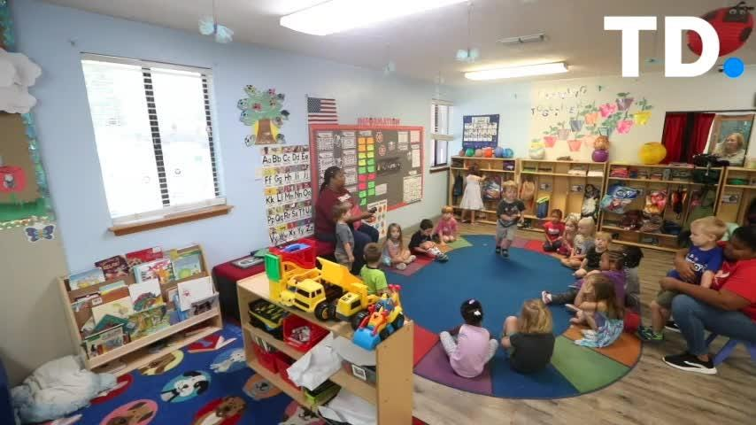 Owner Cassie Branch talks about local child care Tiny Steps Learning Center