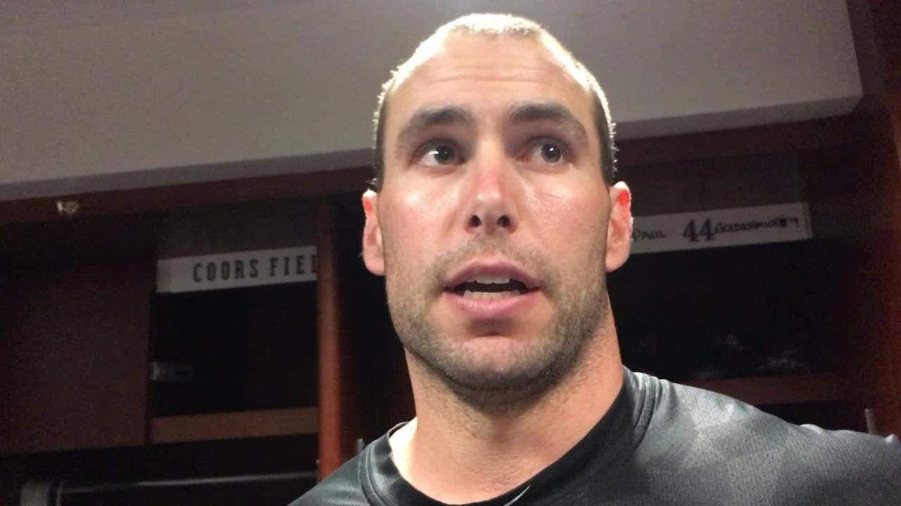 Diamondbacks first baseman Paul Goldschmidt talks about being able to contribute to a win after hitting two homers vs. the Rockies.