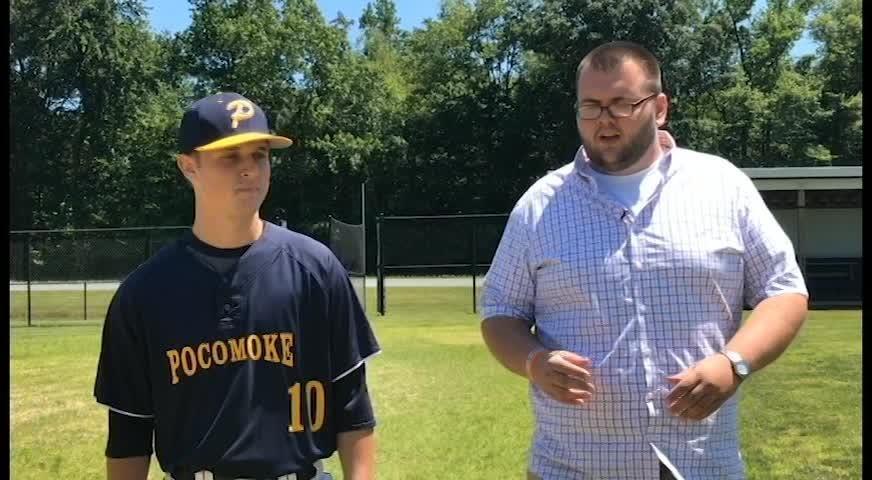 Delmarva Now's Ricky Pollitt interviews Pocomoke High School Jared Hancock